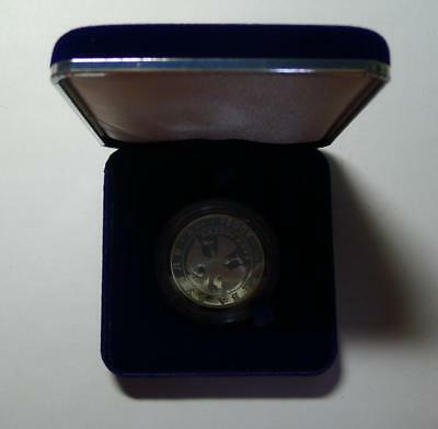 2002 RUSSIA  3 Rubles virgo SILVER PROOF COIN