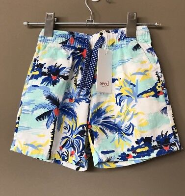 Seed Heritage Boys Shorts Size 4 Years RRP$39.95