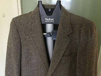 Vintage retro Scotch Tweed sports jacket - classic gents jacket!