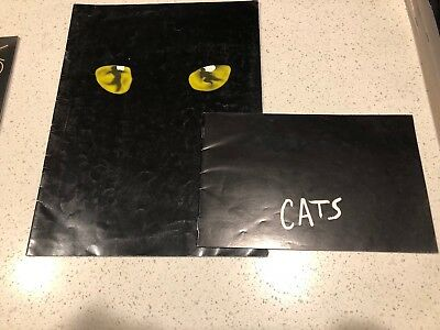 Cats- The Musical Program 1987