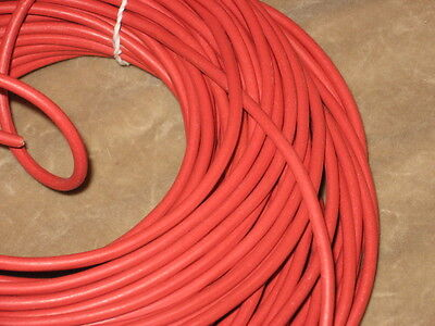 RED 18 Gauge Test Lead Primary Wire USA Made 25 ft Belden ...