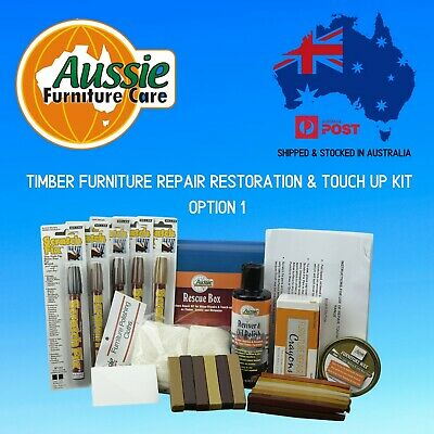 Timber Furniture Repair Kit-Rescue Box Option 1 For Small Repairs & Restorations