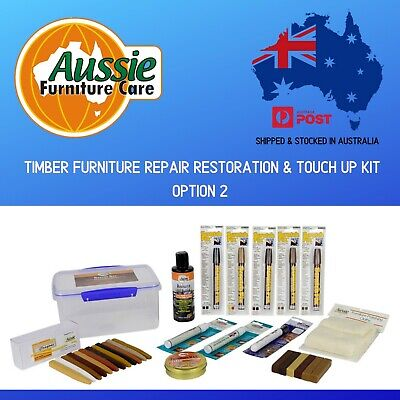 Timber Furniture Repair Kit-Rescue Box Option 2 For Small Repairs & Restorations
