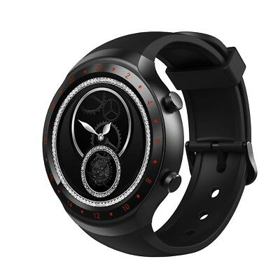 (Red) - Diggro DI07 Android 5.1 Smart Watch MTK6580 1.1GHz Quad Core Processor