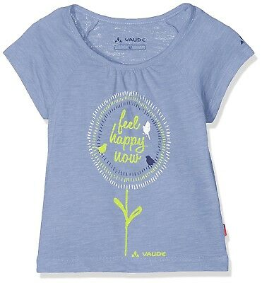 (11 Years, Foggy Violet) - Vaude Girls Leni III Tee. Shipping Included