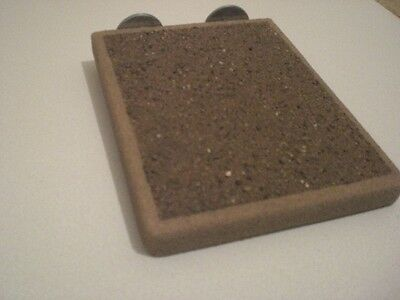 double sided sanded platform for larger birds African greys and smaller animals