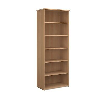 BiMi Extra Tall Shelves Office Storage Bookcase Beech, Maple, White, Oak, Walnut