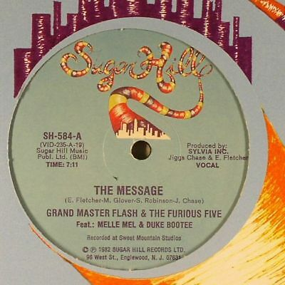GRANDMASTER FLASH & THE FURIOUS FIVE feat MELLE MEL & DUKE BOOTEE - The Message