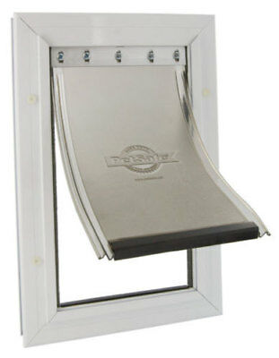 Staywell 640 Aluminium Large Dog Flap