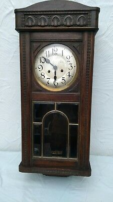 vintage wall clock 2.ft 7 inches