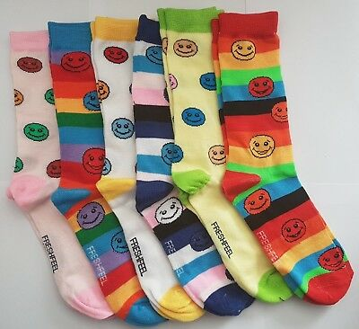 Ladies Emoji Design Socks UK 4-7, work, funky, casual, Socks, Ladies Socks,