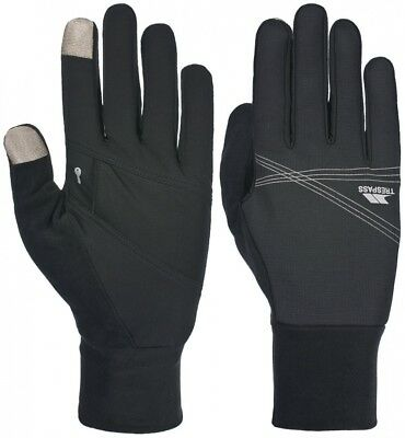 (X-Small/Small, Black) - Trespass Remar Interactive Gloves. Delivery is Free