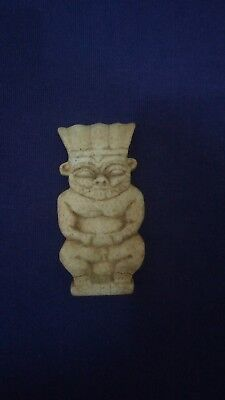 Ancient Egyptian Faience Bes Amulet Ptolemaic