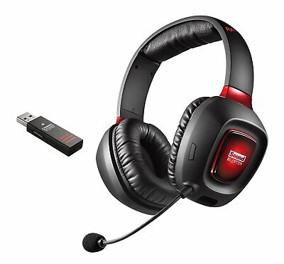 Creative SB Tactic3D RAGE Wireless Gaming Headset Kopfhörer für PC PS4 7-2.4-711