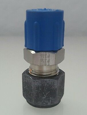 Parker CPI New Stainless Steel Male Connector 3/8 in x 1/4 MNPT 6-4 FBZ-SS