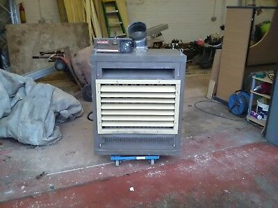 combat gas warm air heater