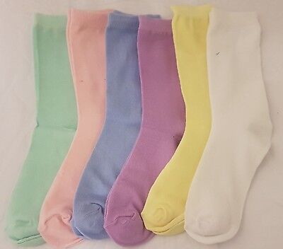 Ladies Design Socks, UK 4-6, work, pastle, casual, Ladies Socks, plain, colour
