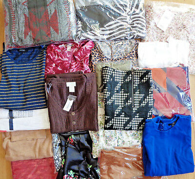 NEW Ladies Wholesale Womens Job Lot MIXED CLOTHES Bundle EX CHAINSTORE Clothing