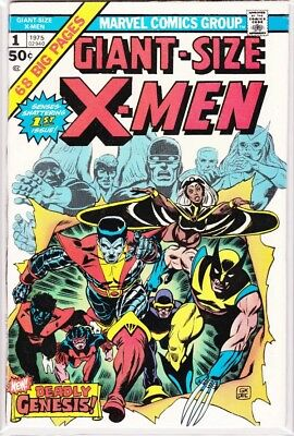 Giant-Size X-Men #1 - 1st new X-Men team - Marvel - Super KEY