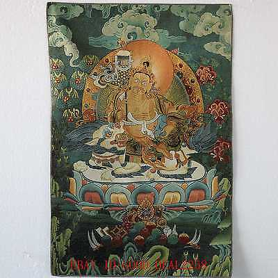Tibet Collectable Silk Hand Painted Buddhism Thangka TK016