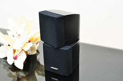 Bose 1x Black Acoustimass Double speaker, powerful.Fully directional.