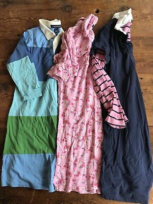 Set Of 3 Lands End Dresses Size 8-10