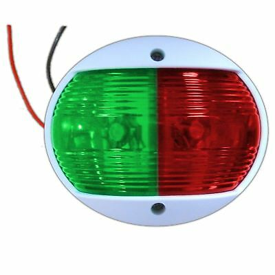 Round LED Bi-Colour Bow Navigation Sidelight for Boats - Five Oceans (BC 2308)