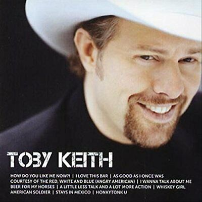 TOBY KEITH ICON CD (Greatest Hits / Very Best Of)