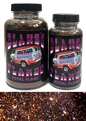 1lb Blakes Metal Flake Bronze Dark Brown Rootbeer loose Hot Rod