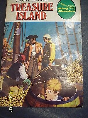 1977 King Classics TREASURE ISLAND COMIC Paperback Book Robert L Stevenson