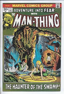 Adventure Into Fear  #11  (  Vf+  )    *****  Sale  ****    Man Thing