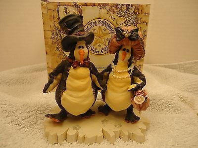 Boyds Collection Wainwright & Ruby Waddlesworth On The Town w/ Box