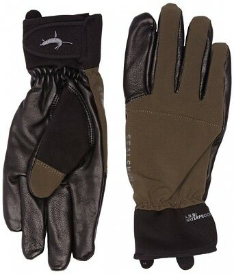 (Small, Olive Brown) - Sealskinz Men's Hunting Glove - Olive, Small. Huge Saving