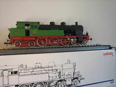 Märklin 5524 1 Gauge Steam Locomotive T18 Digital Original Box New Condition