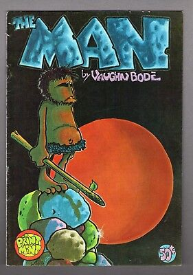 Underground Comix book 1972 The Man artist Vaughn Bode RARE #351