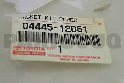 0444512051 Genuine Toyota GASKET KIT, POWER STEERING GEAR(FOR RACK & PINION)