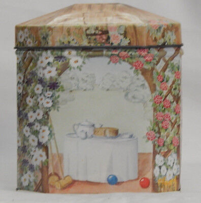 """Ian Logan House Shaped Tin """"Summer House"""" For The National Trust"""