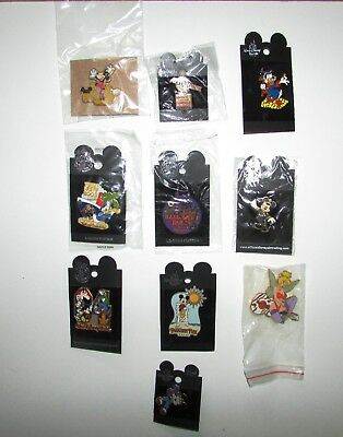 Disney Pin Trading Lot of 15 Assorted Pins - Brand NEW - No Doubles - Tradable