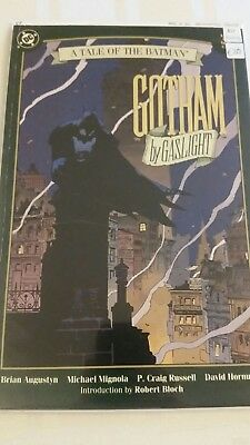 batman gotham by gaslight 1st printing