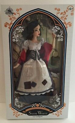 """Disney Store Limited Edition 17"""" SNOW WHITE Doll 80th Anniversary - New in Box"""