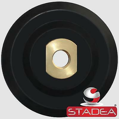 """Stadea 4 inch Rubber Backing Pad Rigid Backer Pad with Backing 5/8"""" 11"""