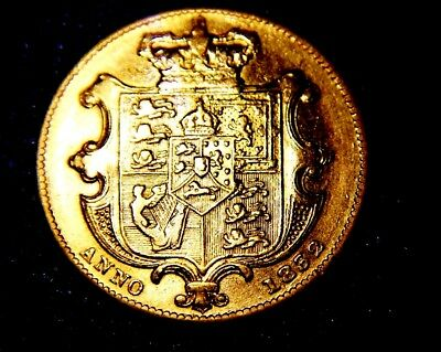 1832 Full Sovereign     (FIRST BUST)   !!!!!    rare   R5,   William  IV ,
