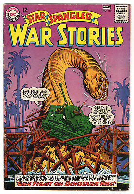 Star Spangled War Stories #119 March 1965 (5.0)
