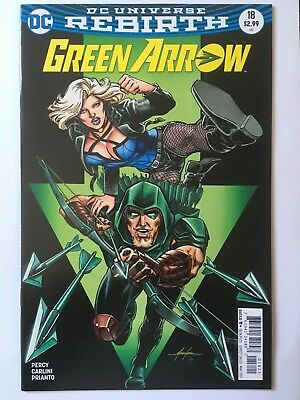 Dc Green Arrow Rebirth #18 Mike Grell Variant Cover Edition!! May 2017 Free P&p