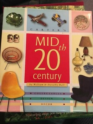 Carter's Mid 20th Century By William And Dorothy Hall. Hard Cover