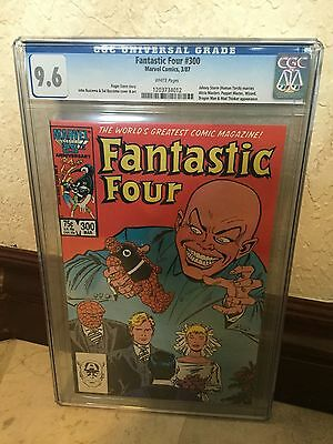 Fantastic Four #300 Cgc 9.6 Nm+ Wp Johnny Storm Gets Married (C1) (Id 5244)
