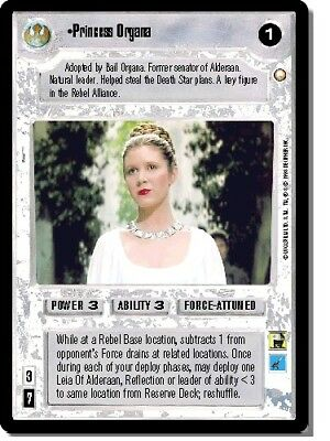 STAR WARS CCG Special Edition - Princess Organa