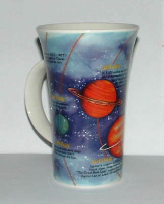 Rare Dunoon Tall Mug The Solar System By Jane Goodwin In Unused Condition