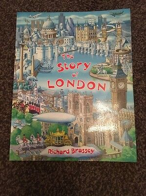 The Story Of London By Richard Brassey Paperback Book