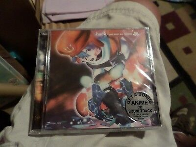 .hack Game Music Best Collection Soundtrack CD USA version Rare